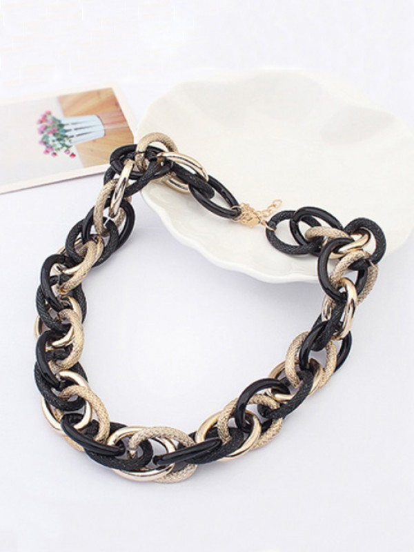 Occident Personality Major suit dull polish Metallic Hot Sale Necklace