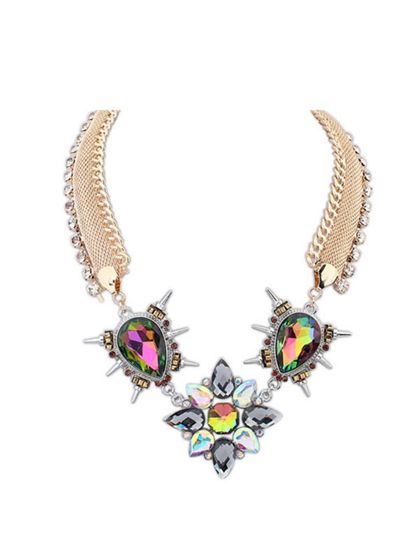 Occident Personality Punk Hyperbolic Hot Sale Necklace