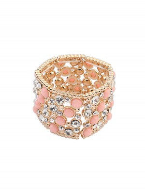 Occident Fashionable Wide Version Elasticity Hot Sale Bracelet