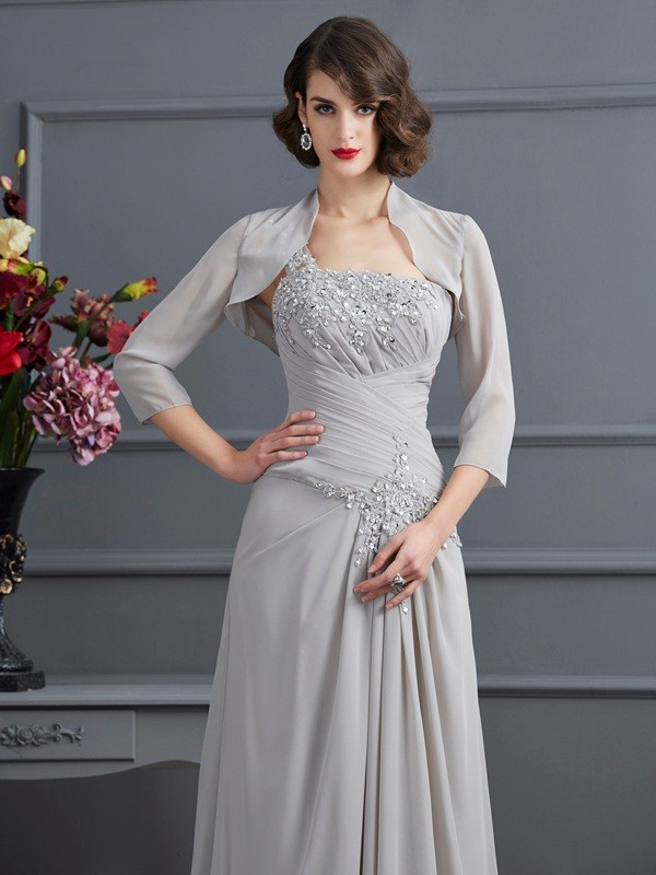 Chiffon 3/4 Sleeves Special Occasion Wrap