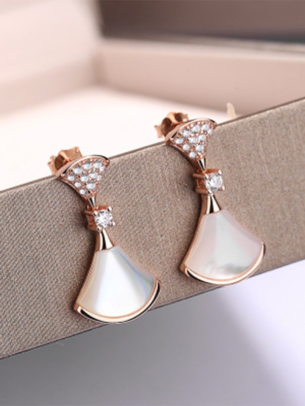 Brilliant 925 Sterling Silver Earrings For Ladies
