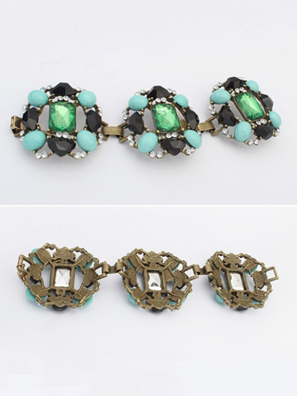 Occident Stylish Emeralds Luxurious Hot Sale Bracelets