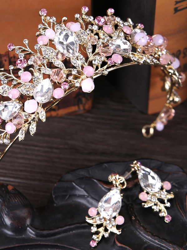 Unique Crystal Headpieces
